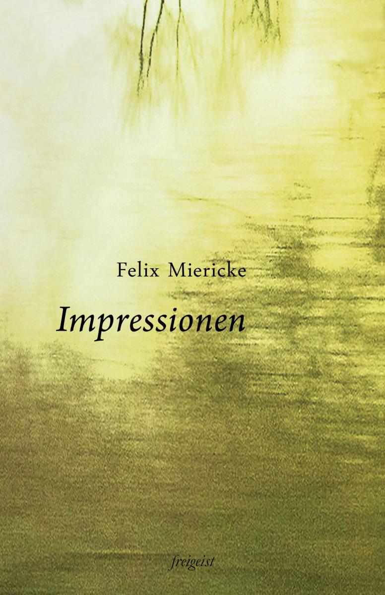 Buchcover Impressionen von Felix Miericke