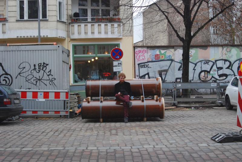 Hannes in Berlin von