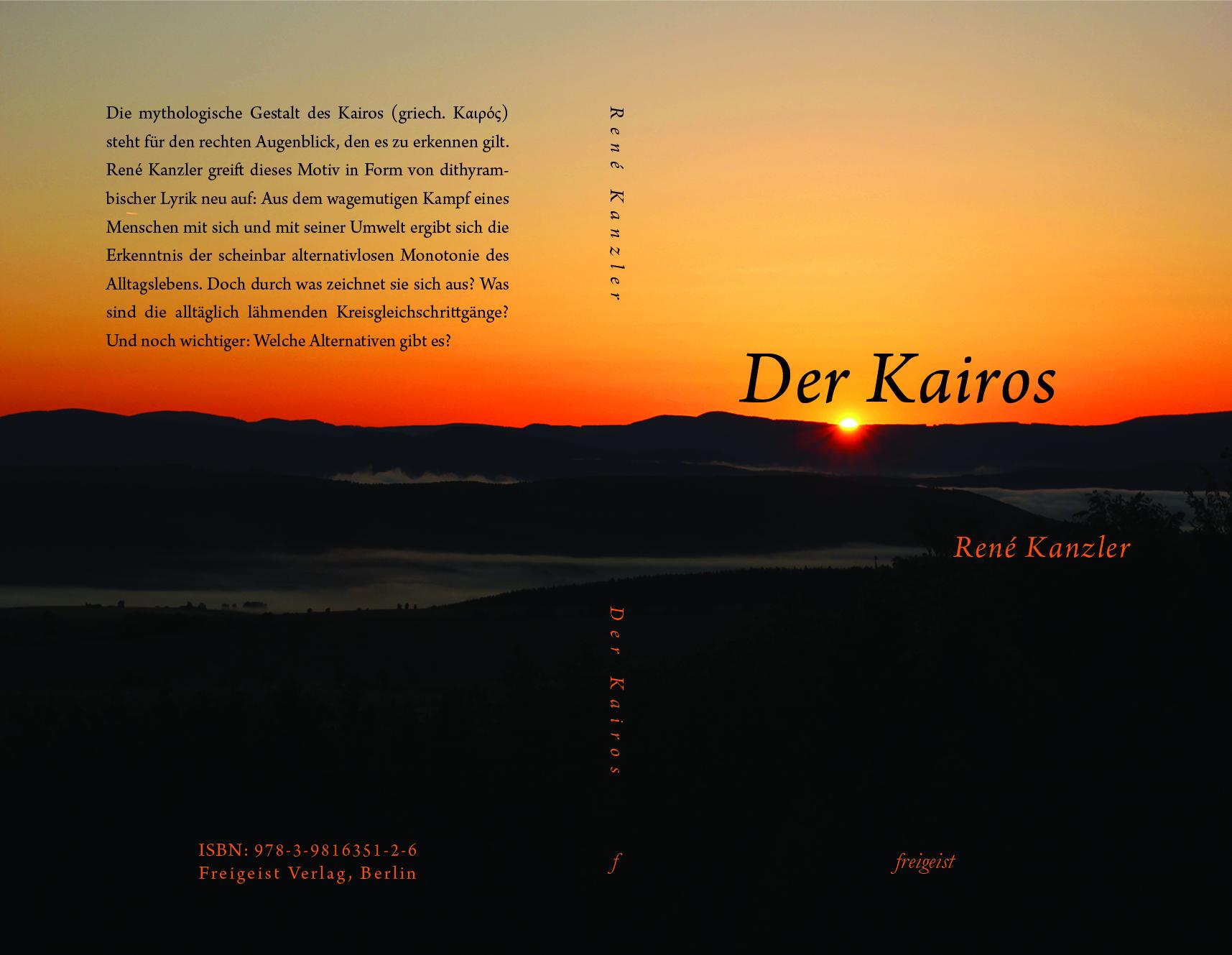 Final Kairos Neu Cover (Juli 2015) von