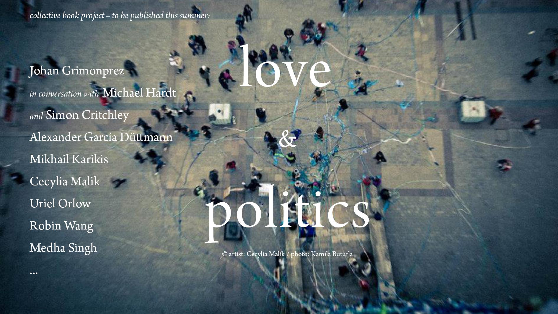Banner Love & Politics von